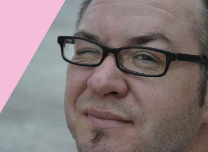 Transgender geschiedenis. Portret Alex Bakker