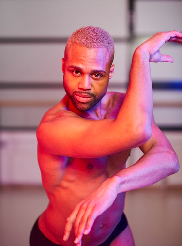 not transitioning — Louis Alves, dancer. Photo: Jasmine de Vries